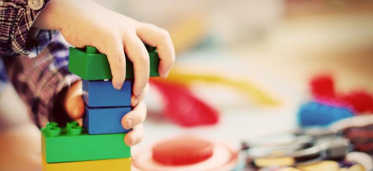 Le costruzioni, protagoniste dell'infanzia