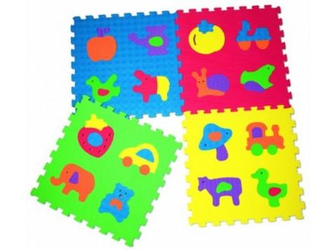 MATTONELLE PUZZLE 4PZ 12MM 60X60