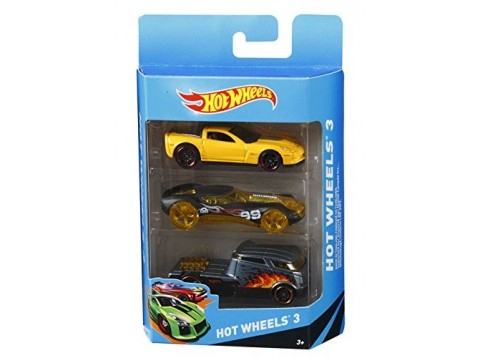 HOT WHEELS CONF.3 VEICOLI