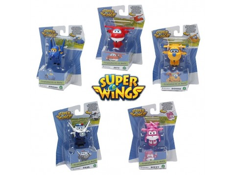 SUPERWINGS PERS.TRASF.BASE 1PZ