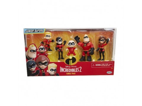INCREDIBLES 2 3IN PRECOOL FIG FAMIL