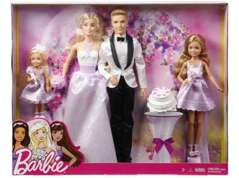 BARBIE WEDDING SET
