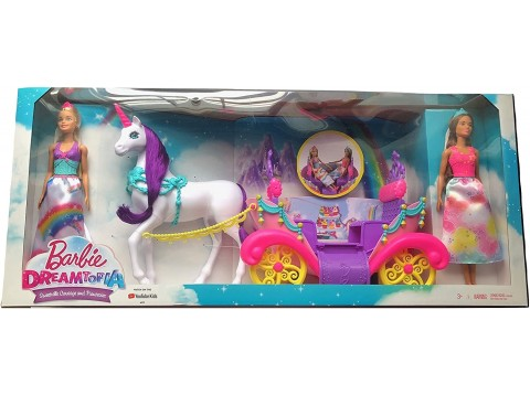 BARBIE CARROZZA DREAMTOPIA C/BAMBOL