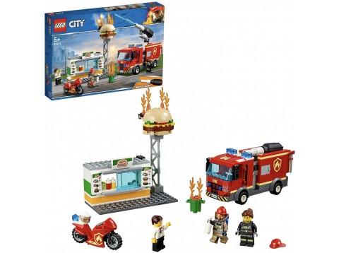 FIAMME AL BURGER BAR CITY FIRE60214
