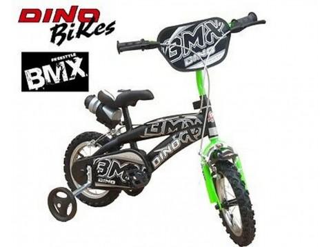 BICI 14 BMX NERO VERDE
