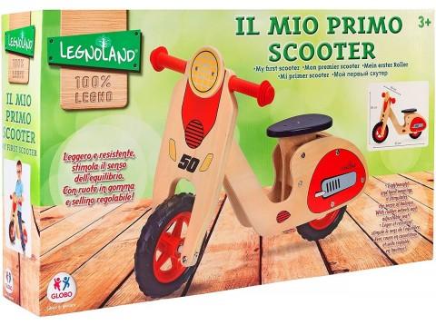 SCOOTER LEGNO C/SELLINO REGOLABILE