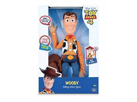 TOY STORY4 WOODY PARLANTE 40CM