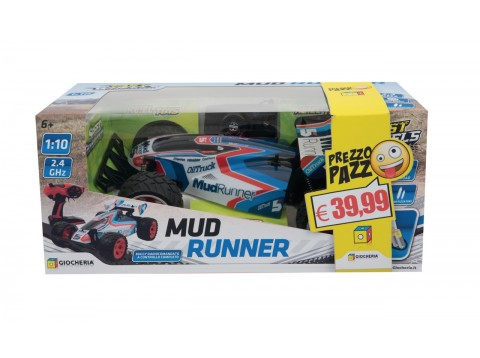 P.P. AUTO RC 1:10 MUD RUNNER CON PA