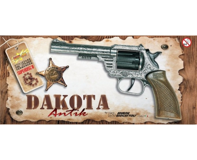 WESTERN C.PISTOLA DAKOTA ANTIC