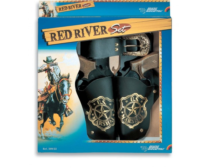 SET RED RIVER FODERO E PIST.DOPPIO