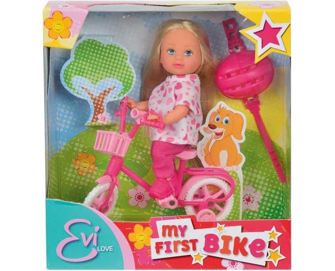 STEFFI EVI LOVE IN BICICLETTA 4ASS