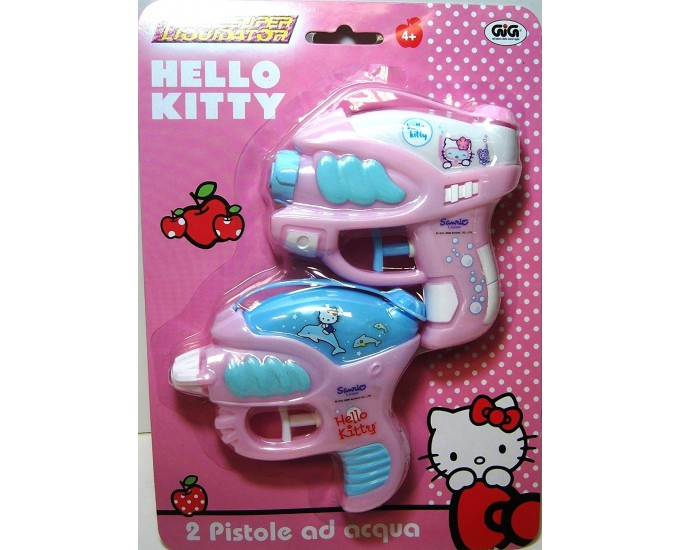 HELLO KITTY BLISTER 2 PISTOLE