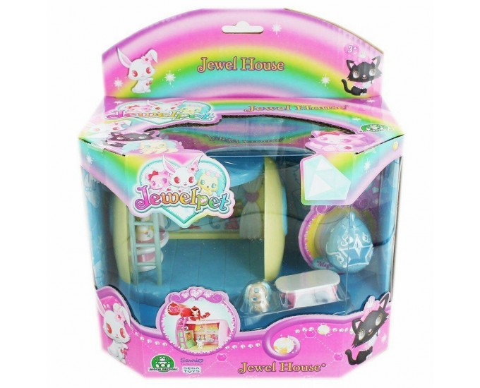 JEWELPETS HOUSE PLAY SET ASS.2