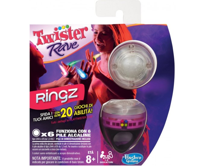 TWISTER RAVE RINGZ