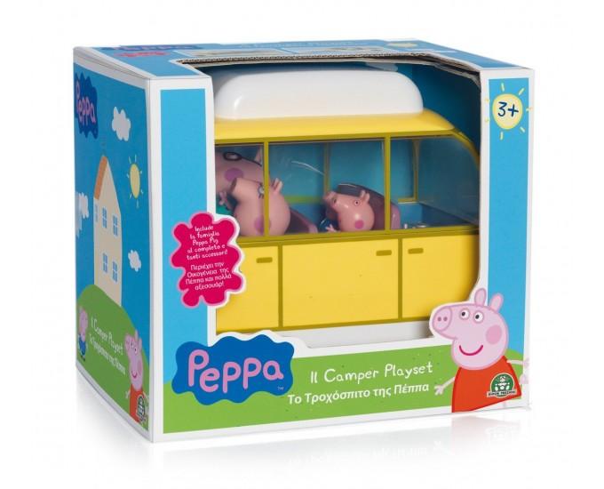CAMPER DI FAMIGLIA PEPPA PIG C/PERS
