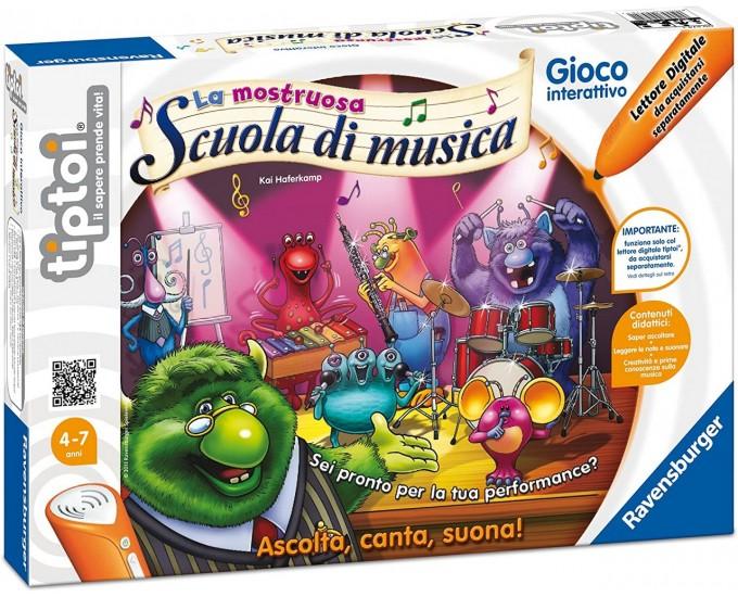 TIPTOI GIOCO MOSTRUOSA SCUOLA MUSIC