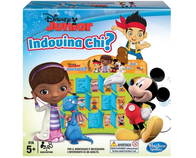 INDOVINA CHI DISNEY JUNIOR