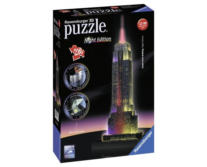 PUZZLE 3D EMPIRE STATE B.C/LUCE 216