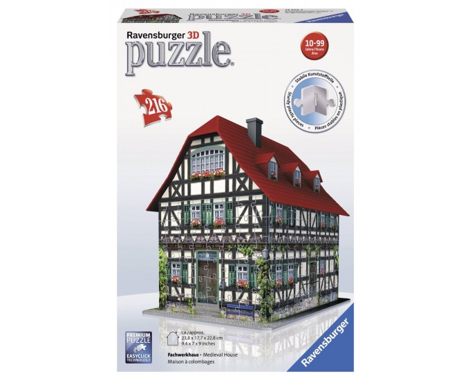 PUZZLE 3D CASA MEDIOEVALE