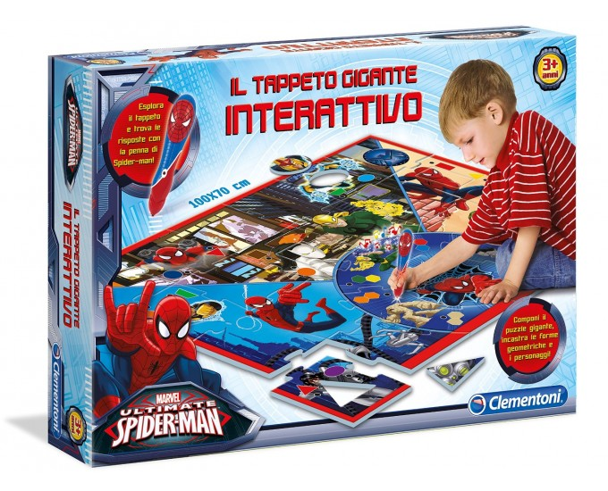 TAPPETO GIGANTE SPIDERMAN INT.
