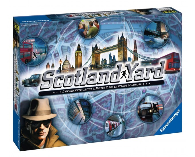 GIOCO SCOTLAND YARD NEW