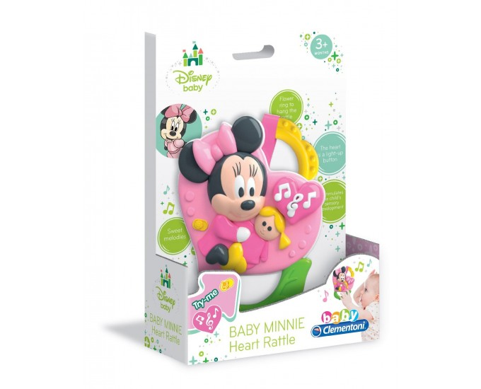 MINNIE HEART RATTLE