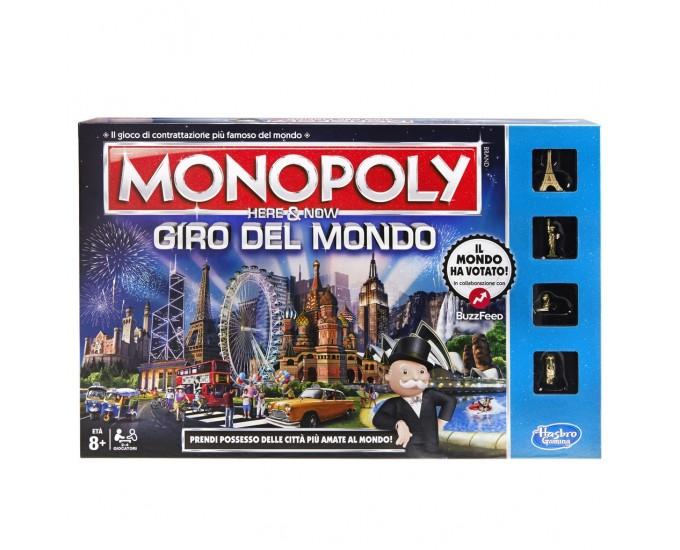 MONOPOLY HERE/NOW GIRO DEL MONDO S