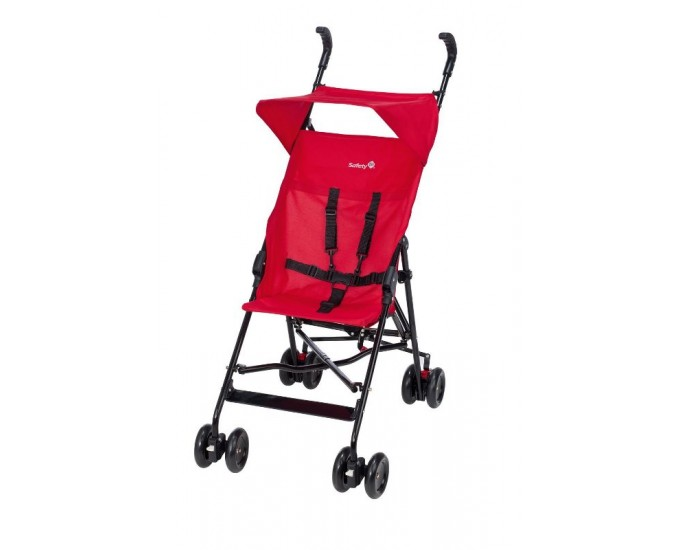 PASSEGGINO PEPS/CAN PLAIN RED SAFET