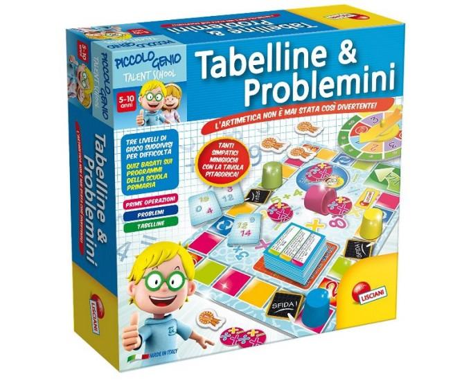 TABELLINE E PROBLEMINI PICCOLO G.