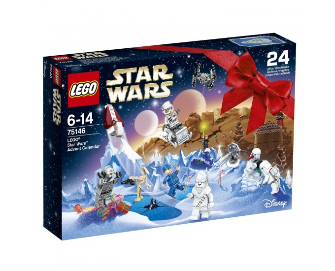 CALENDARIO AVVENTO STAR WARS 75146