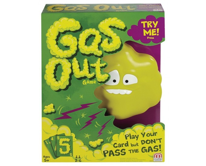 GIOCO GAS OUT
