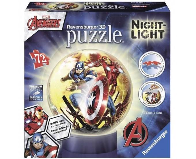PUZZLEBALL 3D AVENGERS LAMPADA