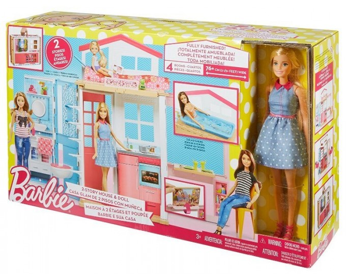 BARBIE CASA COMPONIBILE C/BARBIE