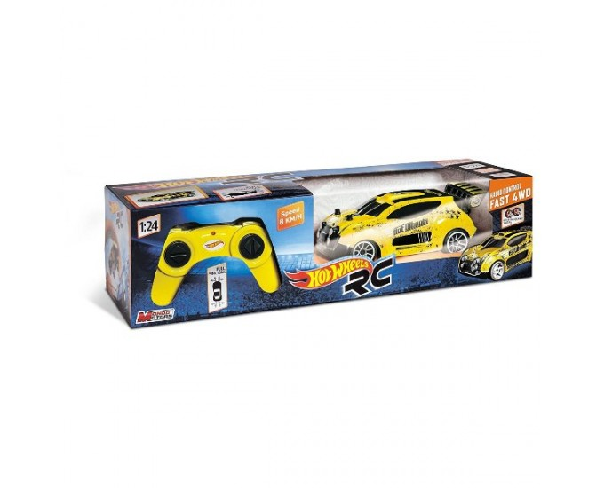 HOT WHEELS FAST 4WD R/C 1/24