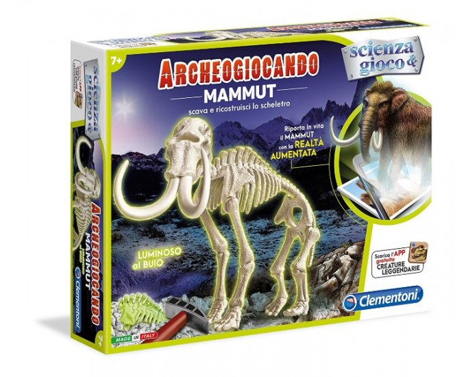 ARCHEOG.- MAMMUT GLOW IN THE DARK A