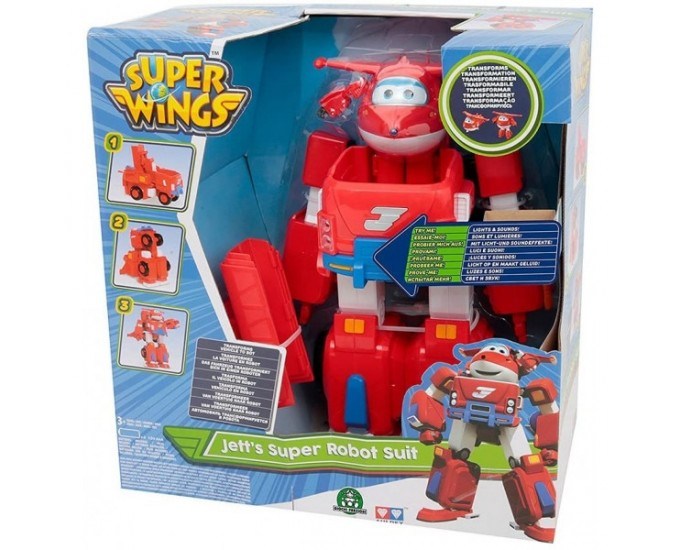 SUPERWINGS VEICOLO ROBOT JETT DX