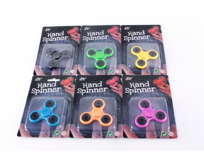 HAND SPINNER COLOUR DG