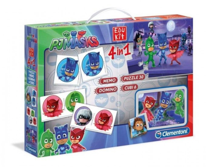 EDUKIT 4IN1 PJ MASKS