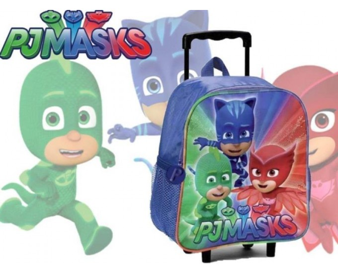 ZAINO TROLLEY PJ MASKS NIGHT