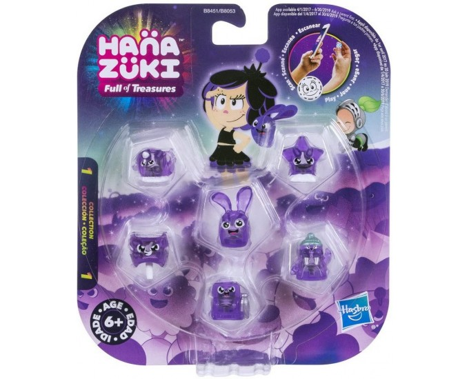 HANAZUKI TREASURE SIX PACK ASST