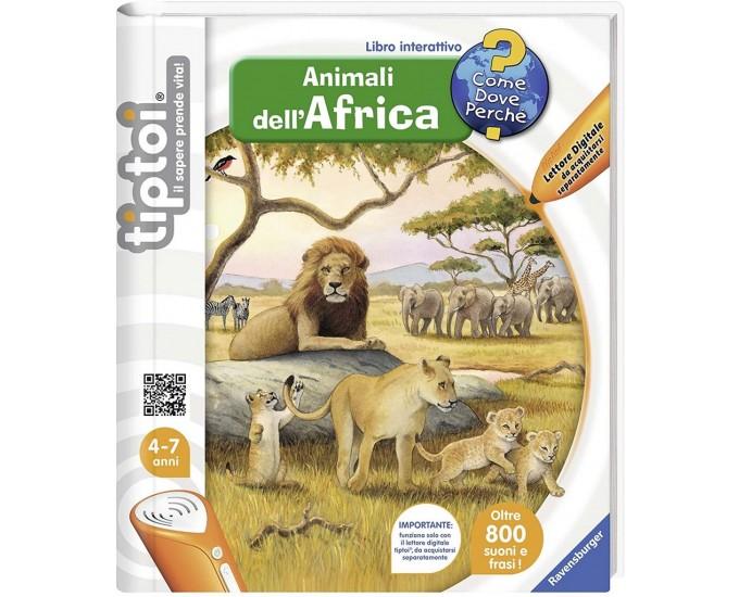 TIPTOI LIBRO ANIMALI D'AFRICA